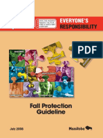 Fall Protection Guide Line