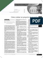 Evaluar Proyecto Inversion