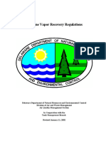 Gasoline Vapor Recovery Regulations