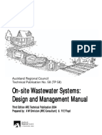 TP58 on-site Wastewater Systems 2004 Chapters 1-8