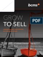 BCMS Grow to Sell - Little Book - May 2017