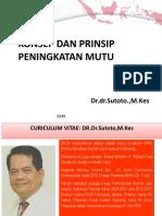 Konsep Dan Prinsip Peningkatan Mutu Pmkp Sutoto Ppt