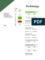 Perhitungan Roda Gigi Miring