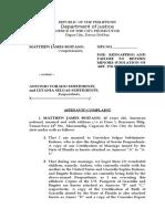 Affidavit Complaint_ Kidnapping Boitano