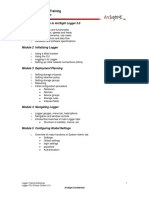 Logger Course Outline