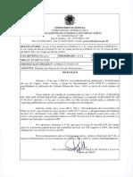 ALTERAÇÃO NAS REGRAS DE VOO POR INSTRUMENTO - 87_dpln1_13202 - 27_07_2017 - Mensagem Fac-Símile