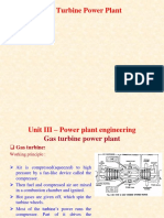 Power Plant-Gas Turbine Based PPT
