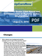 Twin Cities Dealer Cites Speed and Communication as Reasons to Use ShipCarsNow