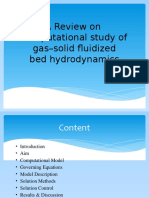 Hydrodynamics of Gas Solid Fludized Bed