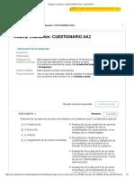 Evaluación_ Cuestionario Aa2 – Auditoria 90 de 100