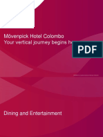 Movenpick Hotel Colombo - Fact Sheet
