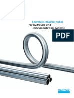 Seamless Stainless Tubes for Hydraulic and Instrumentation Systems