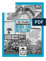 Low Volume Irrigation, Drip Irrigation, Design and Installaton Guide