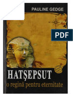 Pauline Gedge - Hatsepsut, o Regina Pentru Eternitate