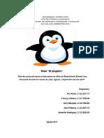 Plan de Produccion - Hielo Pinguino