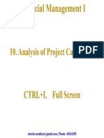 Project Cashflow