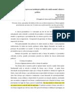 Trabalho Congresso Convergencia Intersecaao Psicanalatica Do Brasil Portuguas