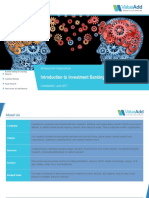 Investment Banking Research By ValueAdd