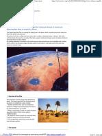 Desert Aqua-Net Plan_Shimizu's Dream - Shimizu Corporation
