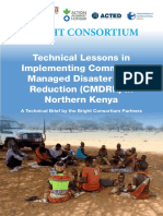 Technical Lessons in Implementing CMDRR-Authors