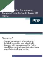 Gangren Pedis Dextra Et Causa DM Tipe 2