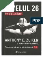 Anthony E. Zuiker & Douane Swierczynski - Nivelul 26 Originile răului (V 1.0).docx
