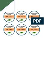 Label Cili Jeruk