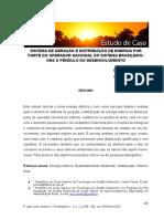 SISTEMA DE GERAÇÃO E DISTRIBUIÇÃO DE ENERGIA