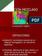 Agitación Mezclado Presentación