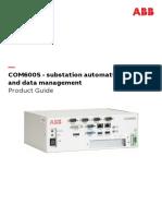 COM600 5.0 Product Guide 75764 ENh
