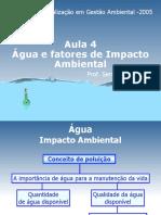 Aula 4 Parametros Qualidade Agua