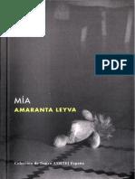 Mia de amaranta Leyva