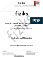 Electrodynamics Class Notes