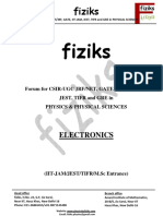 Electrodynamics Fiziks Notes