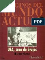 Cuadernos Del Mundo Actual Historia 16 - 1993 Ch016 - Usa Caza De Brujas.pdf
