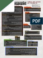 Combat Sheet