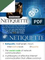 CMSC 2 - Netiquette