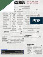 Matrix Sheet