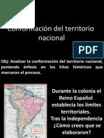 Conformación Del Territorio Nacional