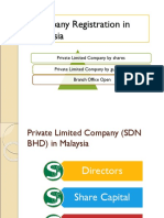 Company Registration in Malaysia