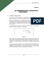 Indicadores Administrativos Operativos y Financieros