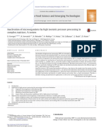 2015 - Inactivation of Microorganisms by High Isostatic Pressure Processing in Complex Matrices - A Review