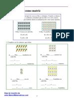 Multiplicacion 1 Como Matriz