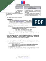 Instrucciones Mandatos en El Extranjero