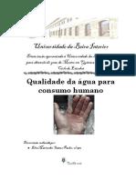 TCC - Qualidade Da Água Para Consumo Humano