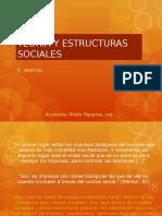 Teoria y Estructuras Sociales Merton.