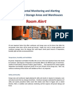 Room Alert Introduction for Stores E