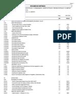 Modelo de Presentacion de Resumen de Metrado