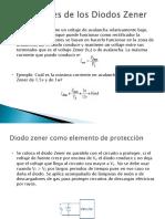aplicaciones de los diodos zener.ppt