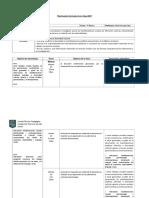 Modelo de Planificación Artes